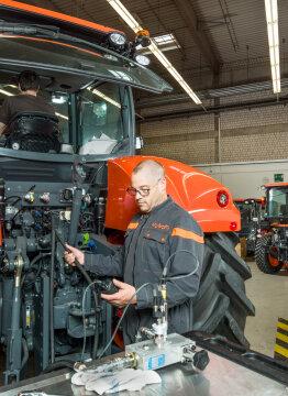 Kubota demuestra la importancia del buen mantenimiento de los tractores agrícolas