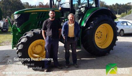 Agricola Noroeste entrega John Deere 6130M a Ganaderia Bolaño SC