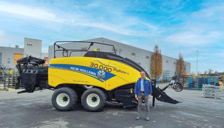 New Holland Agriculture alcanza el hito de 30.000 empacadoras gigantes fabricadas
