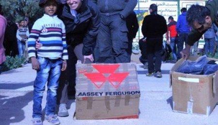 Massey Ferguson recorre Marruecos junto a un Panda