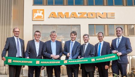 Amazone inaugura su nueva fábrica en Bramsche