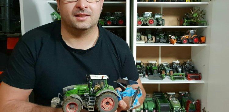 Alejandro Guerra (Jaleto): Maquetista de tractores