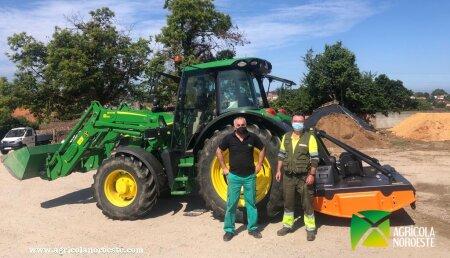 Agricola Noroeste entrega tmccancela  MODELO  R4-220 a Acciona