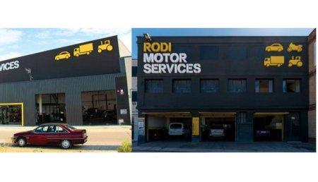 Rodi Motor Services estrena las instalaciones de sus talleres aragoneses de la Puebla de Alfindén y el Polígono de San Valero