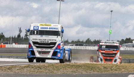 FPT Industrial gana dos títulos en el Campeonato Europeo FIA de Camiones 2019