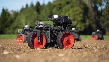 La última generación de robots de siembra:  El Fendt Xaver se hace adulto