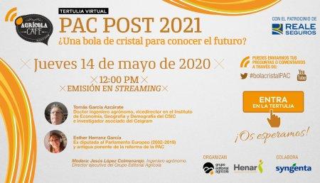 Grupo Editorial Agrícola analiza el futuro inmediato de la PAC en una tertulia virtual con expertos