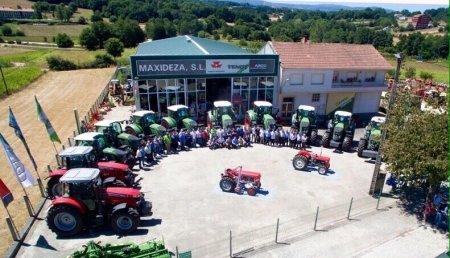 Maxideza entrega 12 Tractores de la marca Fendt y Massey Ferguson