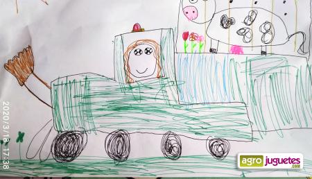 Concurso de Dibujo de AgroJuguetes