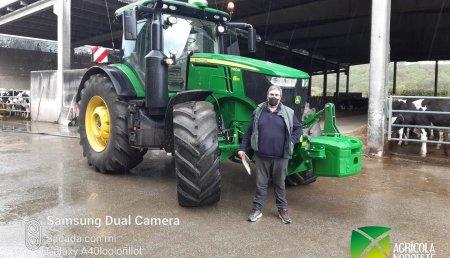 Agrícola Noroeste entrega John Deere  7R - 7250R  a SAT CREXAL