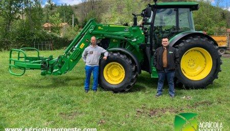 Agrícola Noroeste entrega John Deere 6115MC a David Rodriguez