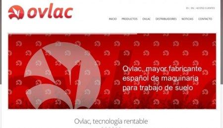 La nueva web de Ovlac, con búsqueda rápida de productos, vídeos y noticias