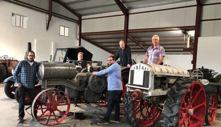 6º Exposicion Tractores Antiguos lechedo (Burgos)