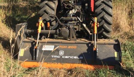 Agricola Suarez entrega  Trituradora TMC CANCELA TGH 200