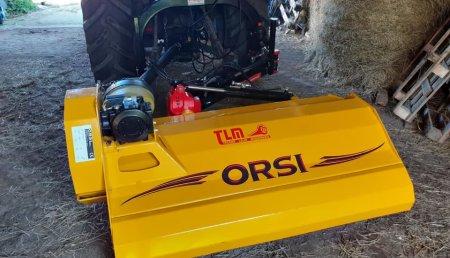 Tecnor Lalin Maquinaria entrega trituradora Orsi en Rodeiro a severino de San Xoan de Camba.