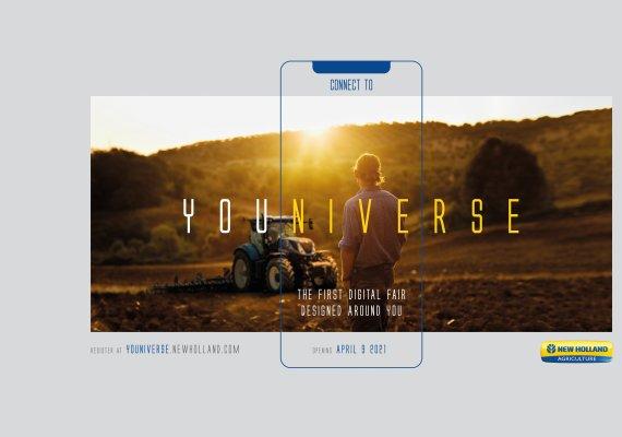 New Holland invita a los agricultores a una experiencia inmersiva en la feria agrícola digital YOUNIVERSE