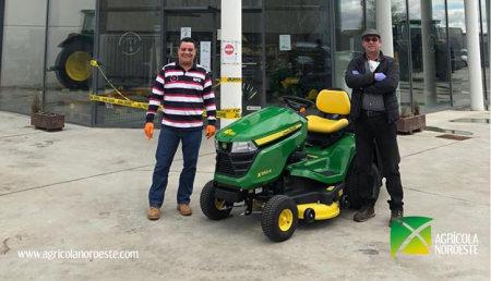 Agrícola Noroeste Entrega MINITRACTOR X350R al AYUNTAMIENTO SANTA MARIA DEL PARAMO