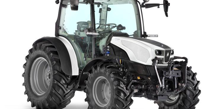 El tractor multiusos que brilla por su tecnología y elegancia
