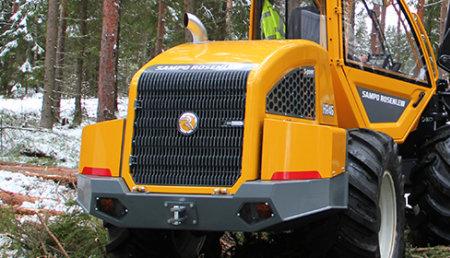 Acuerdo de distribución para el mercado español de los equipos forestales SAMPO ROSENLEW con AG-GROUP