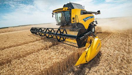 La serie New Holland CX7 y CX8 aumenta la capacidad y ofrece una productividad de nivel superior