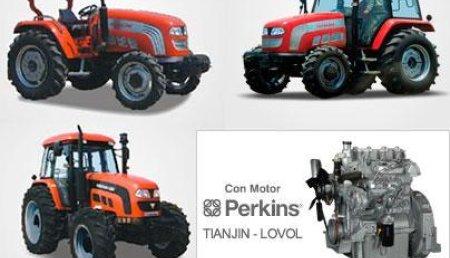 MAQUINARIA AGRÍCOLA LISTE VILLAVERDE, SL  presenta la nueva gama de tractores  FOTON