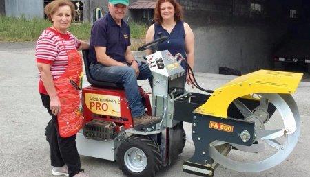 Agricola Matova entrega a Ganadería Rancaño de Olveira, Westerman Cleanmeleon 2 Pro,