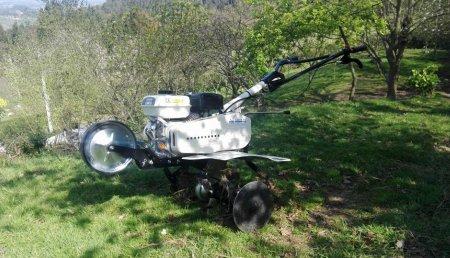 Agroem entrega motoazada OMEGA  en DEVA - Asturias