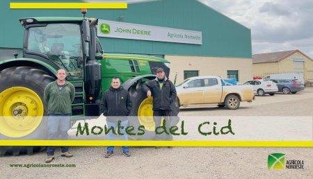 Agrícola Noroeste entrega John Deere  6R - 6250R  a Alvaro Cid Fernandez y Francisco Prieto de la Rosa