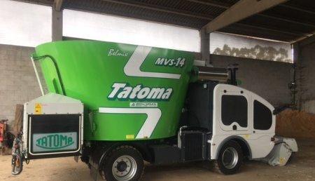 Agricola Castelao ENTREGA MEZCLADOR AUTOPROPULSADO TATOMA  BELMIX MVS14 EN XANCEDA (A CORUÑA )