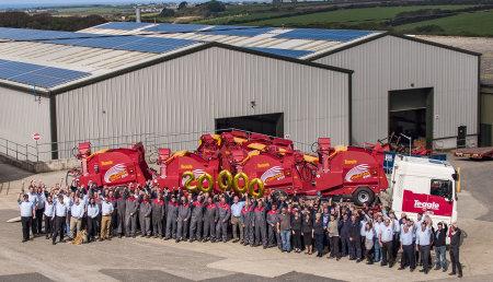 Celebración en Teagle Machinery - ¡20.000 Tomahawks!