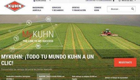 Kuhn Ibérica renueva su web con un uso más sencillo, rápido e interactivo