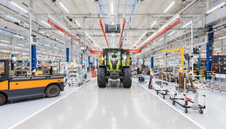 """CLAAS pone en marcha la """"fábrica del futuro"""" en Le Mans"""