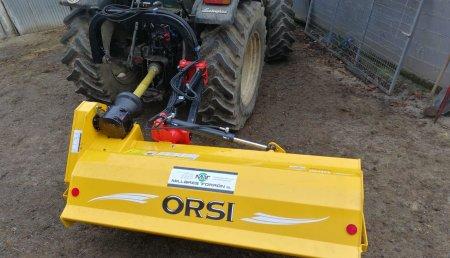 Millares Torron entrega trituradora lateral orsi vulcanic a carlos de romean lugo