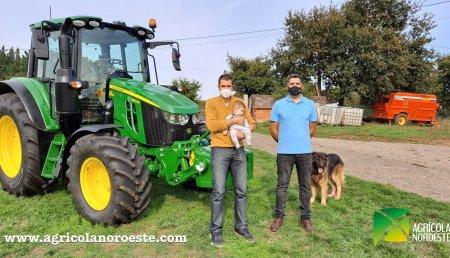 Agrícola Noroeste  entrega John Deere 6120M a Jose Antonio