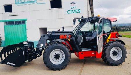 Cardelle Hidraulica Forcar entrega MANITOU MLT940-140V+ para Mazaricos (A Coruña)