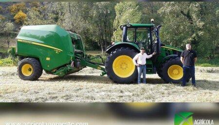 Agricola Noroeste entrega John Deere  6120M a Carlos