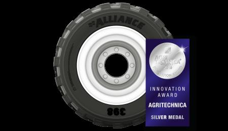 Un neumático de ALLIANCE galardonado con el premio a la innovación de Agritechnica (Agritechnica Innovation Award)