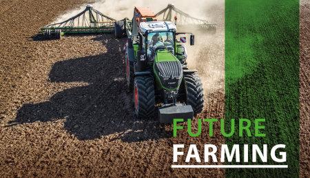 Fendt Future Farming:  gestión inteligente de las máquinas mediante Fendt Connect