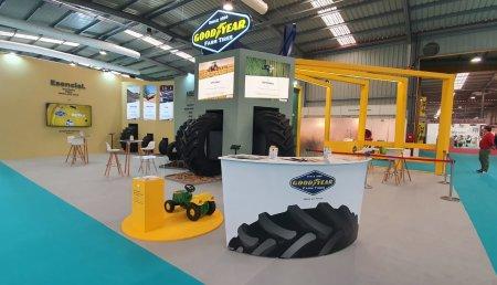 Rotundo éxito de la presencia de Goodyear agro en Fima 2020.
