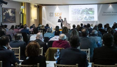SDF celebra su reunión anual de concesionarios poniendo el foco en la digitalización