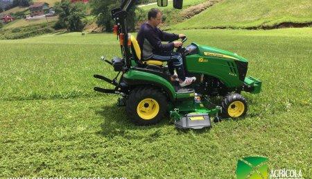 Agrícola Noroeste  entrega John Deere 1026R a EL EMPALME