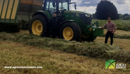 Agricola Noroeste entrega John Deere 6M - 6195M a Ricardo (Servicios Agricolas Santa Maria)