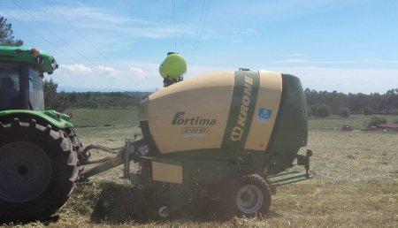Farming Agricola entrega  Krone Fortima V 1500 MC e Kw 4,62 en Tondela, con Distribuidor Armenio Pereira.