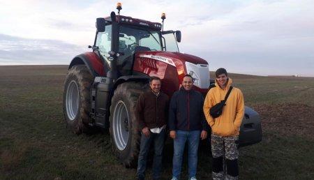 Talleres Argasa entrega  McCormick X8.660 en Tardobispo de Zamora