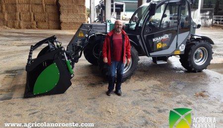 Agrícola Noroeste entrega KRAMER KT276 a SAT CREXAL