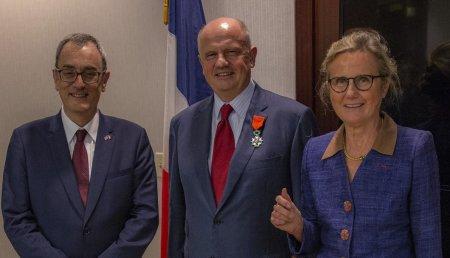 Martin Richenhagen, Presidente, Director Ejecutivo y máximo responsable de AGCO recibe la prestigiosa Legión de Honor, concedida por el Gobierno de Francia