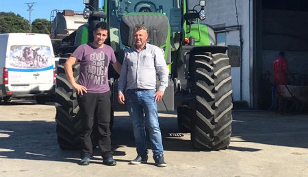 Agrícola Patricio  entrega Fendt 720 Profi a  SAT ACEBO CORRALES