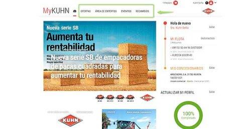 MyKuhn registra más de 1300 máquinas en España