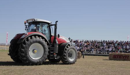 Presentación Steyr en España por Farming Agricola - Palencia
