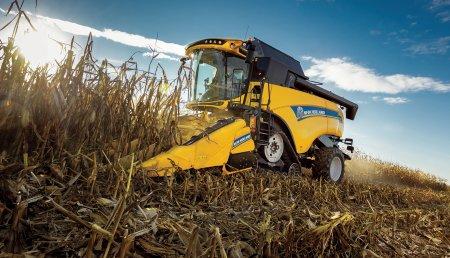 New Holland introduce nuevas funciones en las cosechadoras de la Serie CX